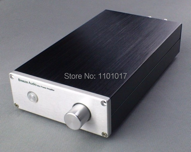 Weiliang Breeze Audio LM1875 Pure power amplifier 35Wx2 HIFI EXQUIS classic hi-fi amp