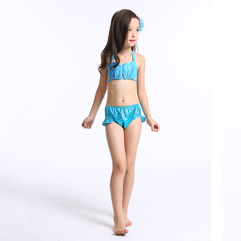 Mermaid Tail Swimming wear-blue 1
