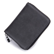 Large Capacity Credit Card Holders Unisex 2018 New Arrivals RFID Blocking Businessman Case Purse Hot sales Wallets