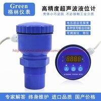 Integrated Ultrasonic Level Meter Non Contact Liquid Level Measurement