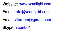 vcan led furniture