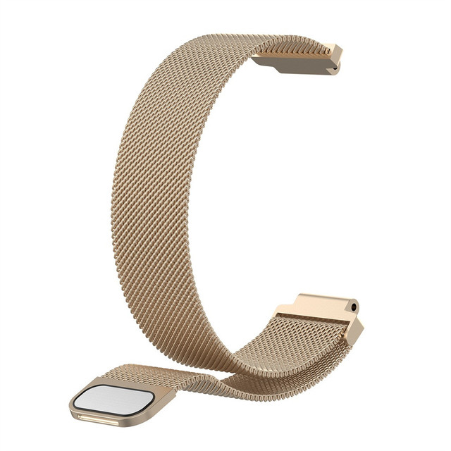 Ouhaobin Milanese loop pasek dla Garmin Forerunner 220 235 235 735 małe Milanese magnetyczny pasek do zegarka pasek Drop Shipping 410 2