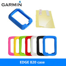Generic Bike Gel Skin Case & Screen Protector Cover for Garmin Edge 820 GPS Computer Quality Case for garmin edge 820 case(China)