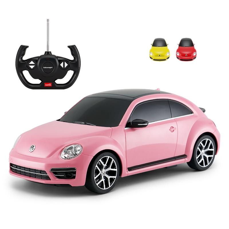 Rastar RC voiture 1:14 coléoptères télécommande jouets radiocommande véhicule Machines modèle voiture électrique jouets filles cadeaux d'anniversaire enfants