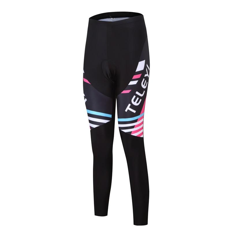 Ženske kolesarske hlače Pro kolesarske hlače črne športne MTB - Kolesarjenje - Fotografija 2