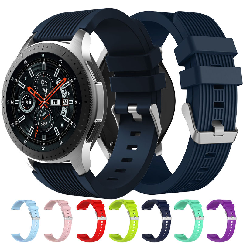 20mm 22mm Strap Watch Band For Samsung Gear S3 Frontier Classic Band Replacemet Band For Samsung Galaxy Watch 46mm 42mm Strap
