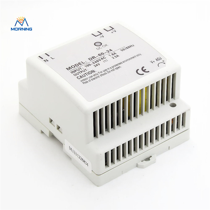 DR-60-12 Din Rail 60W 12V AC TO DR Led power supplier input din-rail switching power supply ac dc dr 60 5v 60w 5vdc switching power supply din rail for led light free shipping