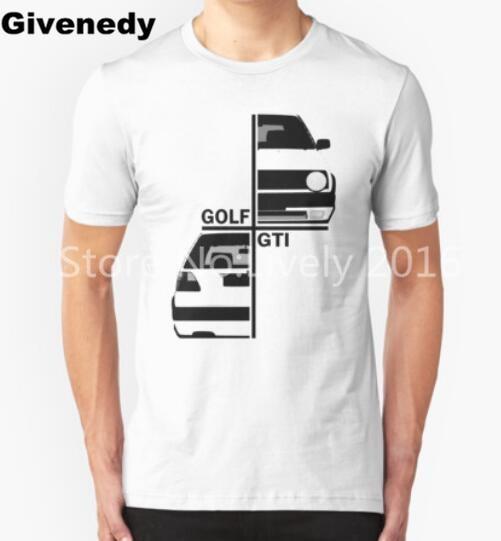 VW  gti mk2 Mens & Womens Cotton O Neck T Shirt Comfortable T Shirt