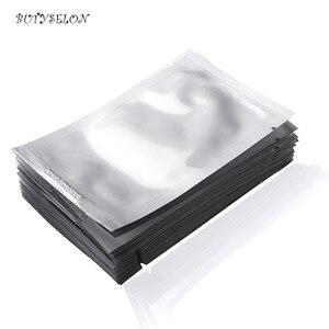 Image 4 - 100pairs 50Packs Ultra sottile Commercio Allingrosso Eye Pads Gel Privo di Lanugine per Estensione Del Ciglio Ciglia di Carta di carta Toppe e Stemmi Punte sticker