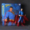 "Louco Brinquedos Superman PVC Action Figure Toy Collectible 11 ""27 CM E18"
