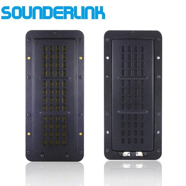 2 pièces/lot bricolage moniteur audio plat moniteur HiFi haut parleur haute puissance ruban tweeter planaire transducteur AMT Neo8