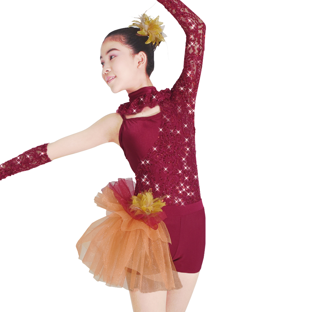 2018 Gymnastics Leotard Ballet Dress For Children Korean Childrens Clothes And Ballet Skirt Dance Dress Costumes Net Veil Swan Stage & Dance Wear Novelty & Special Use