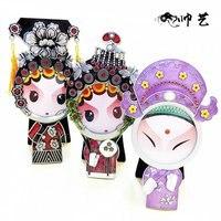 1 Piece Free Shipping Top Grade Big Head Dolls Cartoon Metal Mini Personalized Wedding Photo Frames