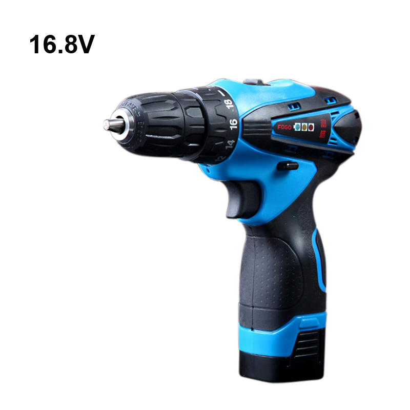 16 8V Electric Drill Cordless font b Screwdriver b font Rechargeable Parafusadeira Furadeira One Battery Electric