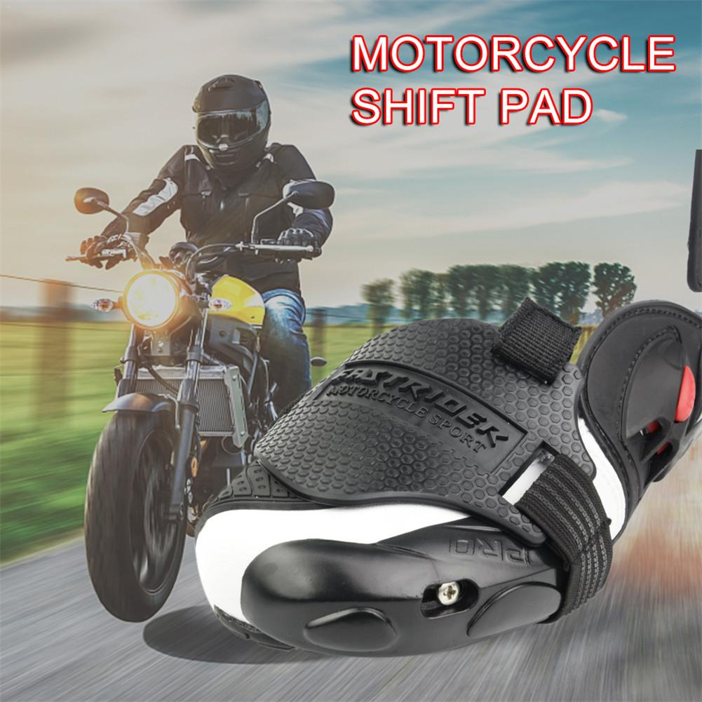 Motorrad Schutz Schuhe Motorrad Shift Pad Schuh Boot Cover Schützende Getriebe Shifter Zubehör Kompakt-beweis