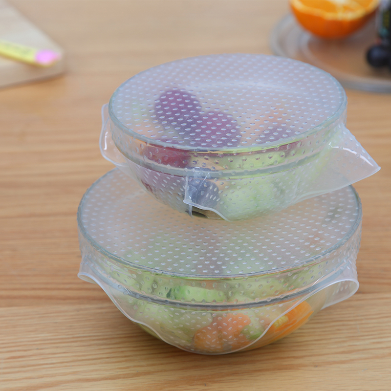 Silicone food wrap can be repeated use of sealed cover multi-purpose bowl cover food saver vacuum covers