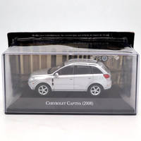 IXO Altaya 1:43 Chevrolet Captiva 2008 Silver Diecast Models Limited Edition Collection Miniature Toys Car