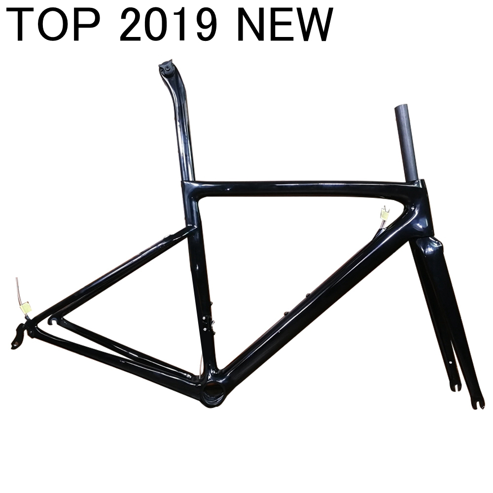 2019 new T1000 TOP carbon road frame rim brake and disc brake cycling bicycle racing disk bike frameset FM06 taiwan XDB DPD ship(China)