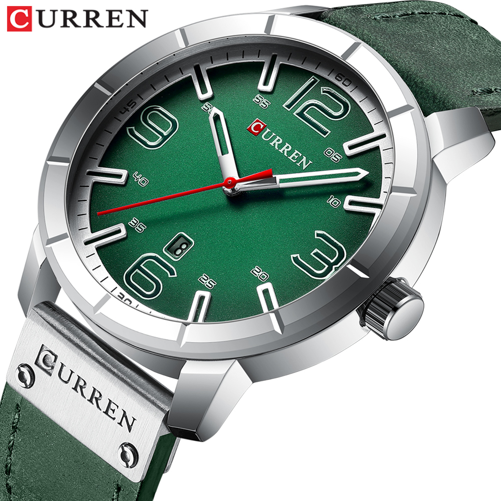 New 2019 Quartz Wrist Watch Men Watches CURREN Top Brand Luxury Leather Wristwatch For Male Clock Relogio Masculino Men Hodinky