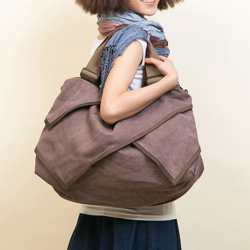 Free shipping Han edition one shoulder large capacity  female bag leather stitching canvas bag handbag Korean fashion worn bag free shipping 2014 boom bag leisure contracted one shoulder bag chain canvas bag