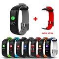 P1 Plus смарт-браслет Цветной монитор сердечного ритма артериального давления IP67 Водонепроницаемый H1 фитнес-Браслет спортивный трекер