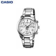 Наручные часы Casio SHN-5000BP-7A женские с кварцевым хронографом на браслете