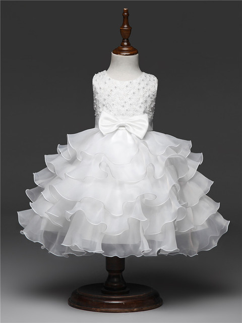 Lush Ruffles Girls Party Dress