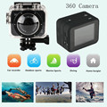 New Sport Video Action Camera X360 H.264 360 Degrees SportS Cam mini camcorder 360x190 Large Panoramic 360 Degree Video DV DVR