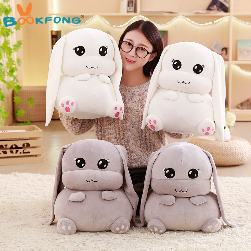 Kawaii Long Ears Rabbit Plush Toy Stuffed Animal Toy Soft -4463