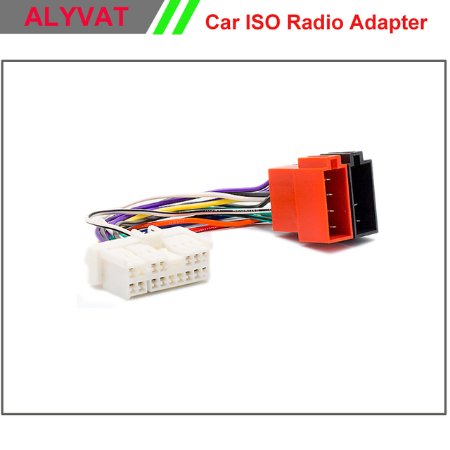 car iso stereo wiring harness for hyundai 1999 2005 kia 1999 2005 car iso stereo wiring harness for hyundai 1999 2005 kia 1999 2005 adapter connector