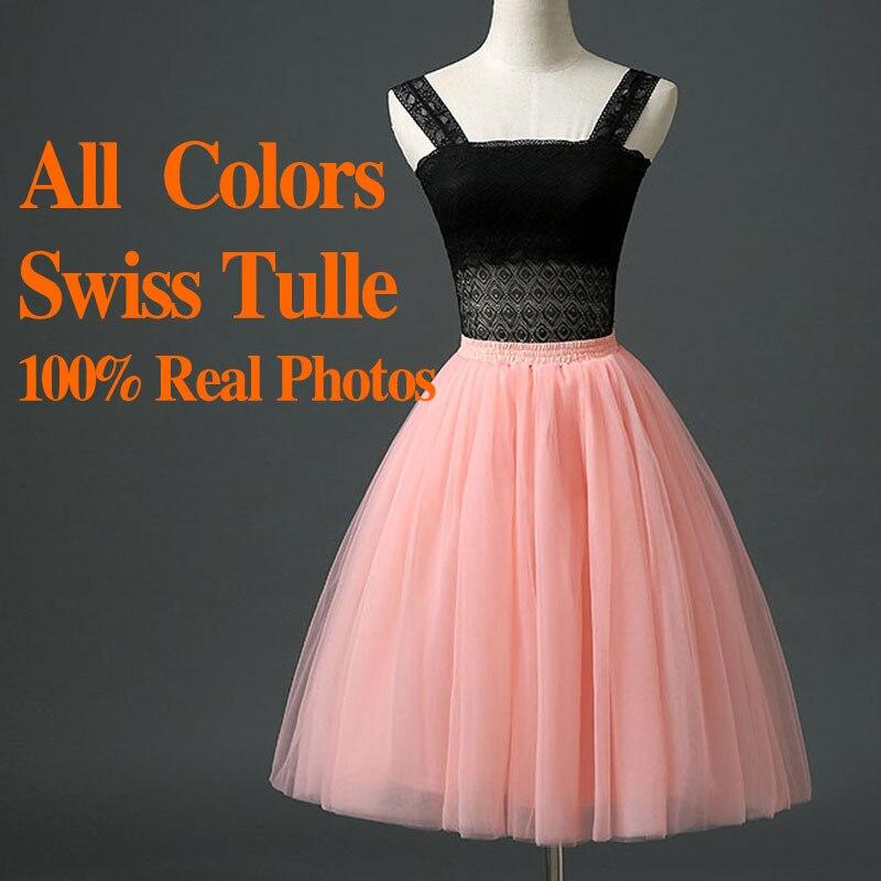 7 Layers Maxi Long Skirts Women Tutu Tulle Skirt High Waisted Midi Pleated Womens Adult tutu Summer Autumn Plus Size - Isashany Wedding/Bridesmaid Dress store