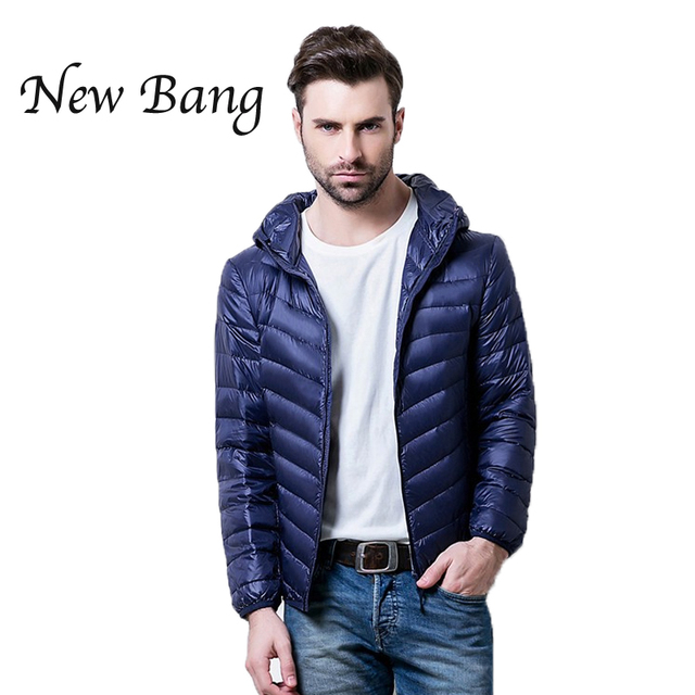 Mens Down Feather Jacket | Fit Jacket