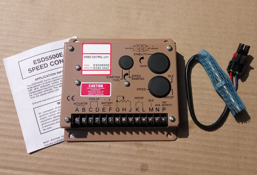 цена на speed controller ESD5500E with 3034572 speed sensor
