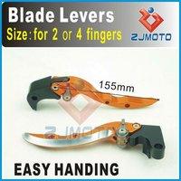 CNC Blade Lever Adjustable Brake Clutch Lever For SUZUKI GSR750 2011 Brake Clutch Blade Levers