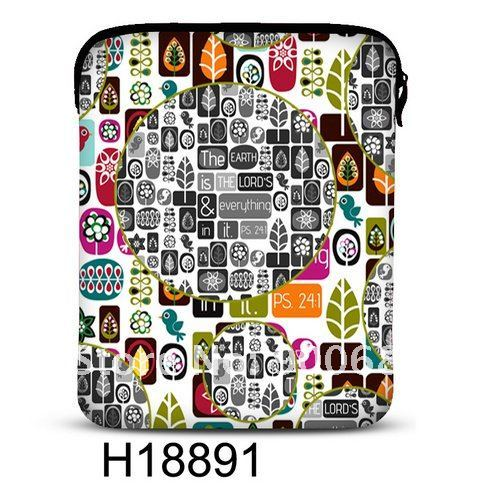 Free Shipping! Mix order! 2012 Brand New! H18891 Soft Neoprene Case Cover For New iPad 3 3rd Generation