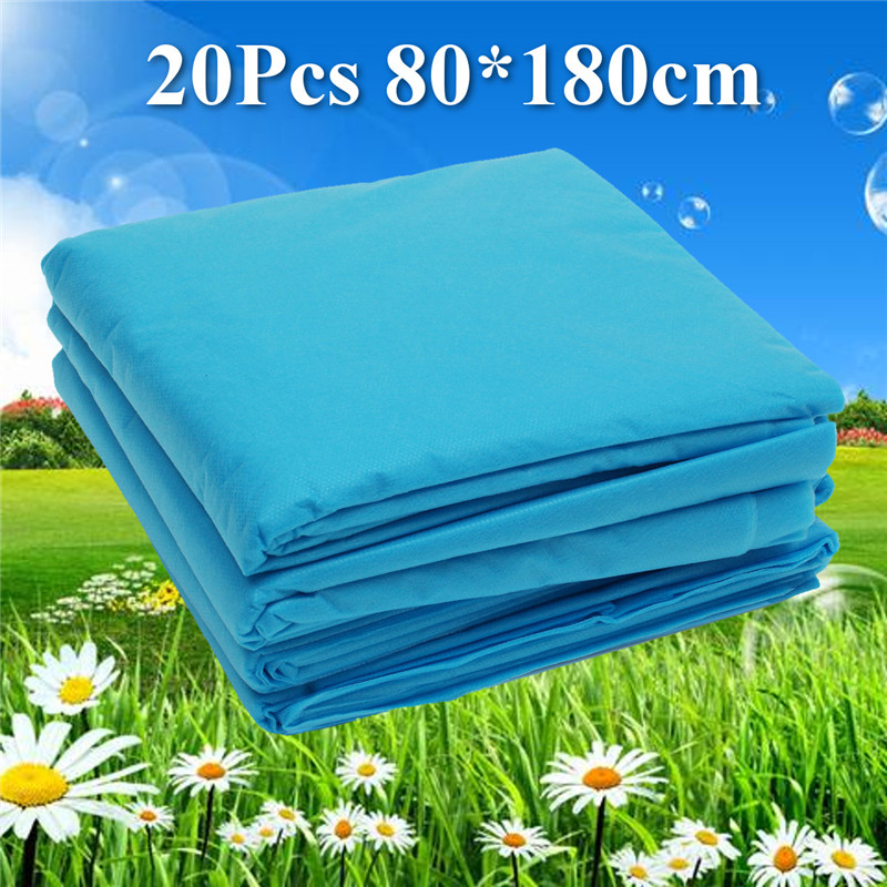 20 Stks Wegwerp Bed Tafel Lakens Covers Voor Massage Facial Waxen Arts Waterdicht Anti-olie Hotel Steriele Lakens Cover