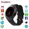 Popular 2017 nova lemfo x3 mais bluetooth smart watch phone android 5.1 smartwatch mtk6580 1 gb + 8 gb