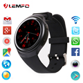Popular 2017 nuevo lemfo x3 bluetooth smart watch smartwatch mtk6580 del teléfono android 5.1 1 gb + 8 gb