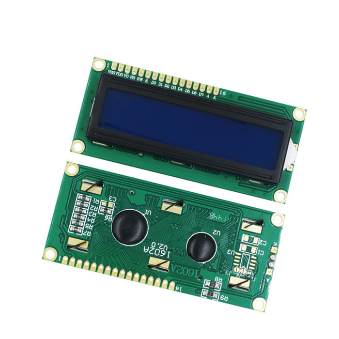 1PCS LOT LCD1602 LCD 1602 blue screen with backlight LCD display 1602A 5v in stock