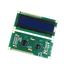1PCS/LOT LCD1602 LCD 1602  blue screen with backlight LCD display 1602A-5v in stock