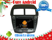 FOR Citroen C4 Aircros Android 4.4 Car DVD GPS,Cortex A9 Dual Core,Support Rear View Camera/BOD/Steering Wheel Control