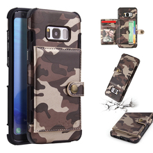 Army Camouflage Cover for Samsung Galaxy S10 S8 S9 Plus Hybrid Cases Case on S10e Note 9 8 Military Camo Fundas