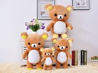 60cm Kawaii Brown Rilakkuma Plush Toy Teddy Bear Stuffed Animal Doll Birthday Gift Big Throw Pillow