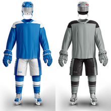 COLDINDOOR  2 pieces home and away hockey jersey for practice H6100