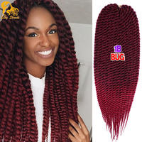 Havana mambo twist crochet braid hair 120g pack 2x synthetic kanekalon senegalese havana mambo twist braids.jpg 200x200