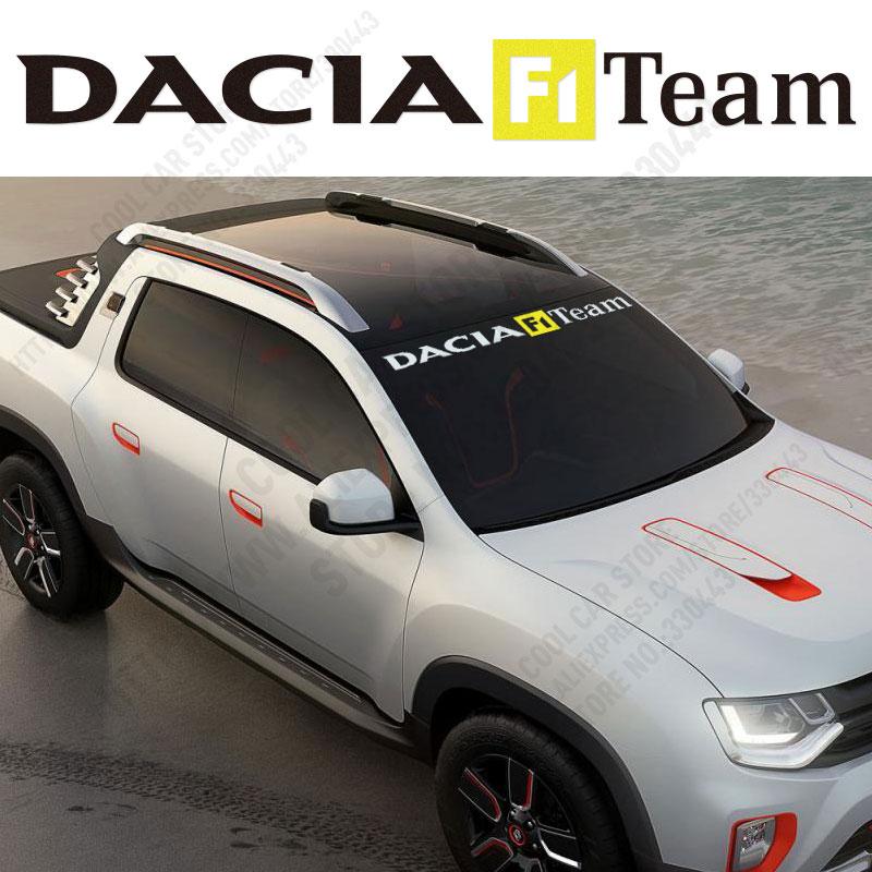 Nouvelle Arrivée Sport Pare,Brise Avant autocollants Décalque de Voiture  Car Styling Pour renault dacia duster logan sandero lod.