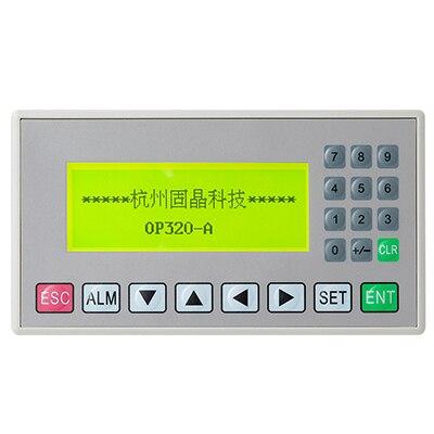 OP320-A MD204L 4.3 pouces affichage texte HMI Support 232 485 ports de Communication nouvelle offre OP320-A-S