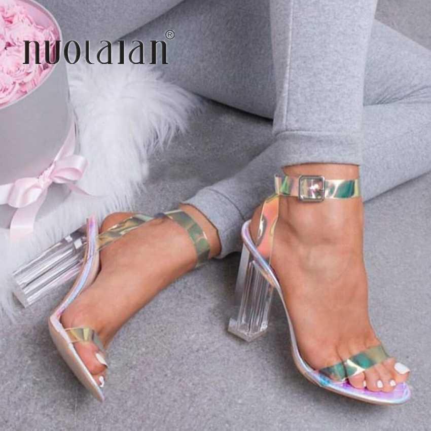 b8baa0ff6a Detail Feedback Questions about 2019 Fashion PVC Women Sandals ...