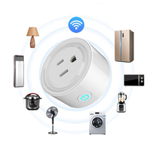WIFI US America Plug Smart Timing Socket Wireless Outlet Voice Control Work with Alexa Google home IFTTT qiachip us plug wifi smart home ip55 waterproof socket app remote control work with amazon alexa supported ifttt google timing