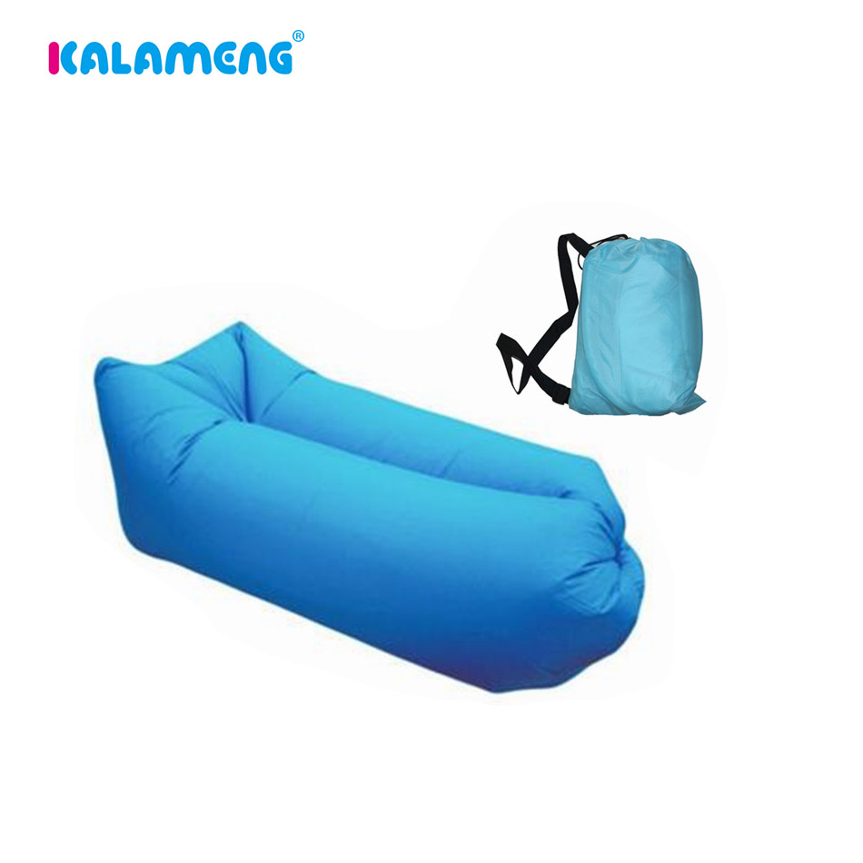 Folding camping chair bag - Portable Inflatable Lazy Bag Sofa Folding Sofa Sleeping Lazy Bag Air Bed Good Quality Camping Air